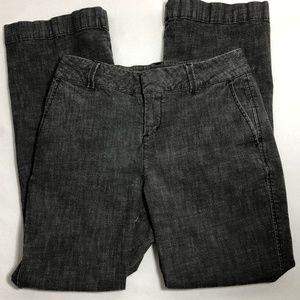 Coldwater Creek Grey twill jeans stretch